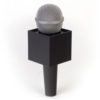 PEARSTONE SQUARE MICROPHONE FLAG
