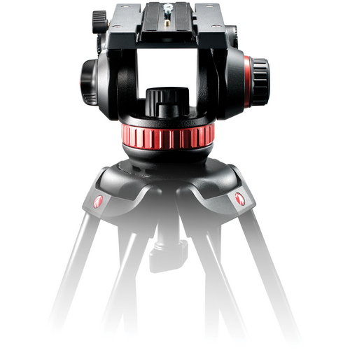 MANFROTTO 502HD (  502A HD ) FLUID HEAD with 75 mm BALL + BRIDGE TECHNOLOGY ( 5,5Kg )