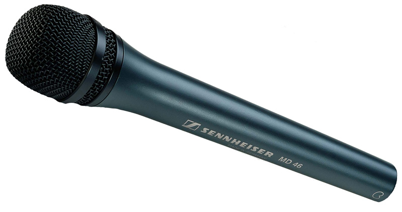 SENNHEISER MD 46 Reporter ( Interview )  Handheld Dynamic ENG Microphone