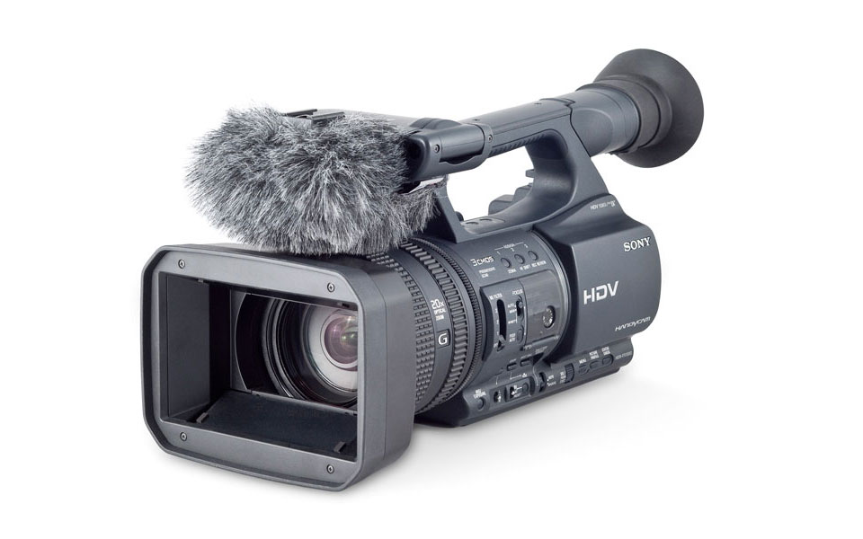 Rycote Mini Windjammer for Sony AX2000 / NX5 / FX1000 / Z5  / Z1 / FX1