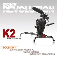 KONOVA ECONOMY DSLR SLIDER K2 80cm Dolly Track