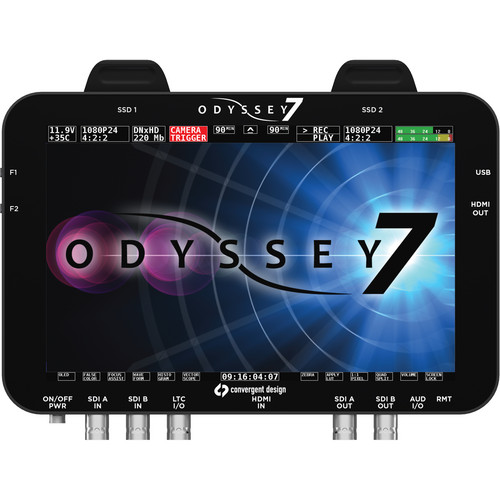 CONVERGENT DESIGN ODYSSEY 7 RAW MONITOR & RECORDER