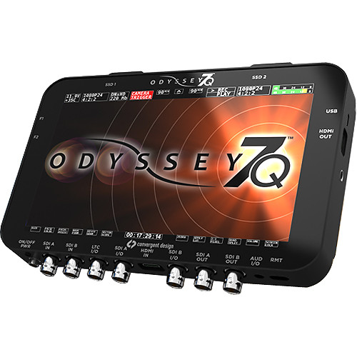 CONVERGENT DESIGN ODYSSEY 7Q RAW MONITOR & RECORDER