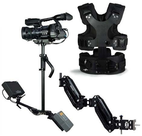 CAME S-100 PRO CARBON FIBER + DOUBLE ARM + VEST ( 2.5  Kg - 9 Kg )