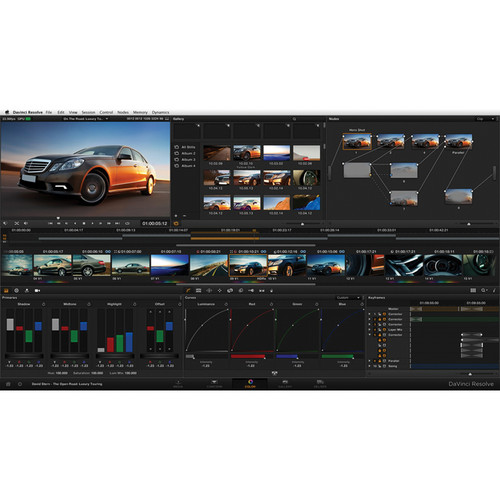 Blackmagic Design DaVinci Resolve 12.0 Color Correction Software ( BM-DV/RESSTUD )