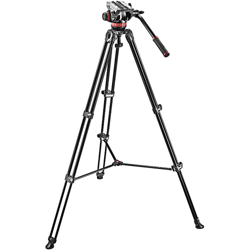 MANFROTTO 502HD FLUID HEAD  +  TREPIED VIDEO NT-280 ( 182 Cm )