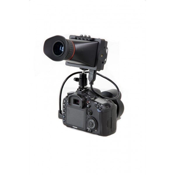 FEELWORLD E-350 ( IndiPro TOOLS EVF )  ELECTRONIC VIEWFINDER with 3.5 inch LED MONITOR