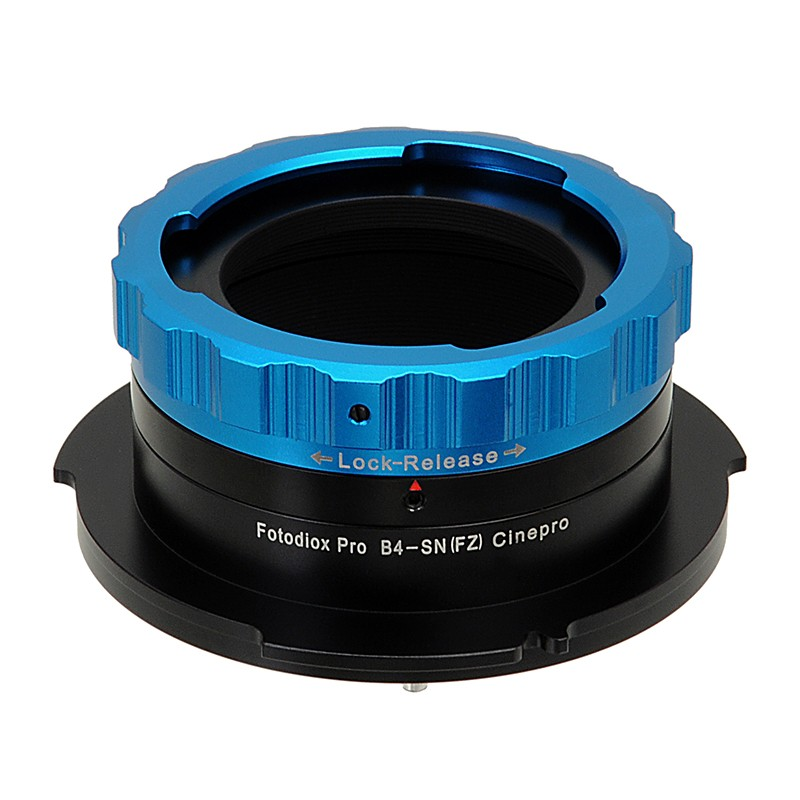 FOTODIOX PRO LENS MOUNT ADAPTER 2/3 B4 To SONY FZ MOUNT  ( PMW-F3 / F5 / F55 )