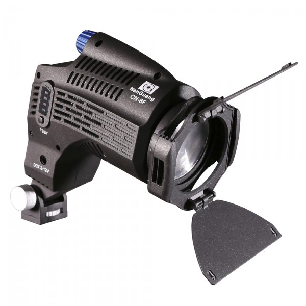 NANGUANG CN-8F ON CAMERA FRESNEL LED LIGHT CRI 95