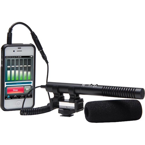 AZDEN SGM-990+i SHOTGUN MICROPHONE FOR MOBILE And INTELLIGENT DEVICE RECORDING