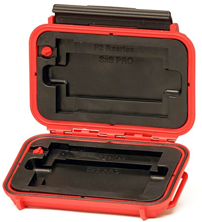HPRC 1300 MV CRUSHPROOF WATERTIGHT HARD CASE For P2 / SxS  MEMORY CARDS