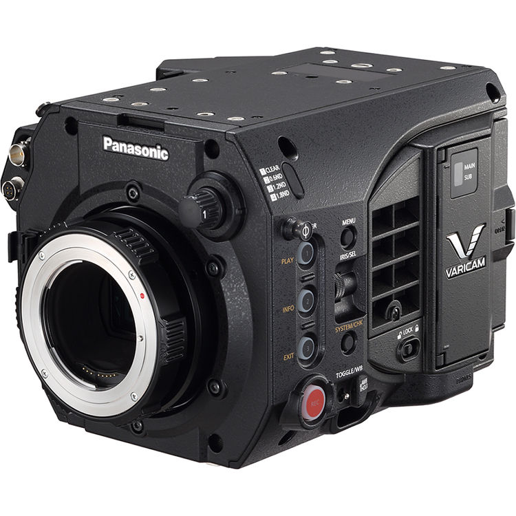 PANASONIC VariCam LT 4K Super 35 EF-MOUNT CINEMA CAMERA