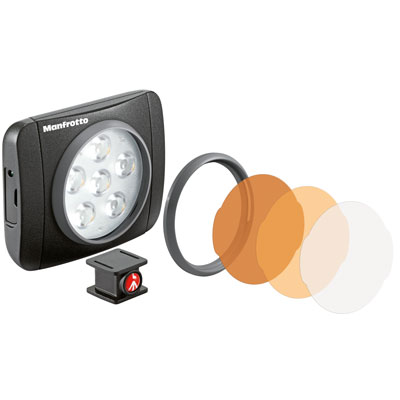 Manfrotto Lumie ART LED Light, OSMO Accessory (MLUMIEART-BK)
