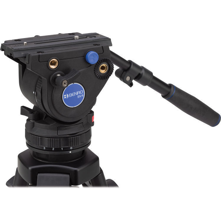 BENRO BV4H Pro Video Head 75mm / Flat Base 4Kg