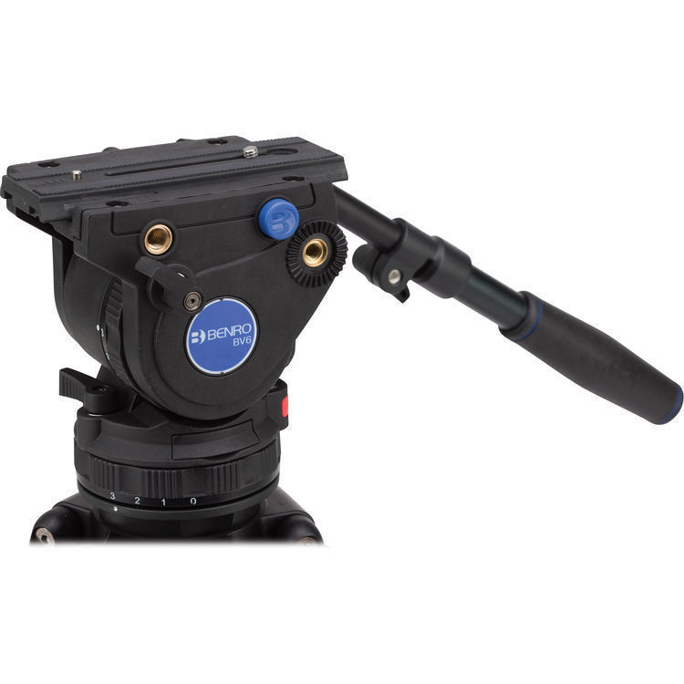 BENRO BV6H Pro Video Head 75mm / Flat Base 6Kg
