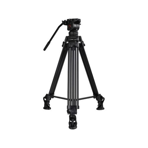 NT-280 VIDEO TRIPOD 1.82 M + EI-02H FLUID HEAD ( 6 Kg ) + 75mm Ball