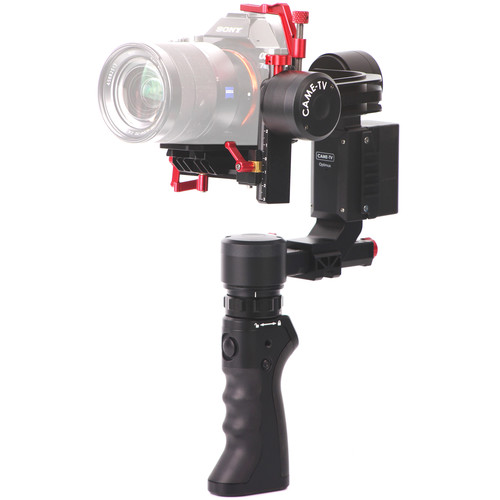 CAME-TV OPTIMUS 3-Axis Camera Gimbal + DUAL HANDLE KIT