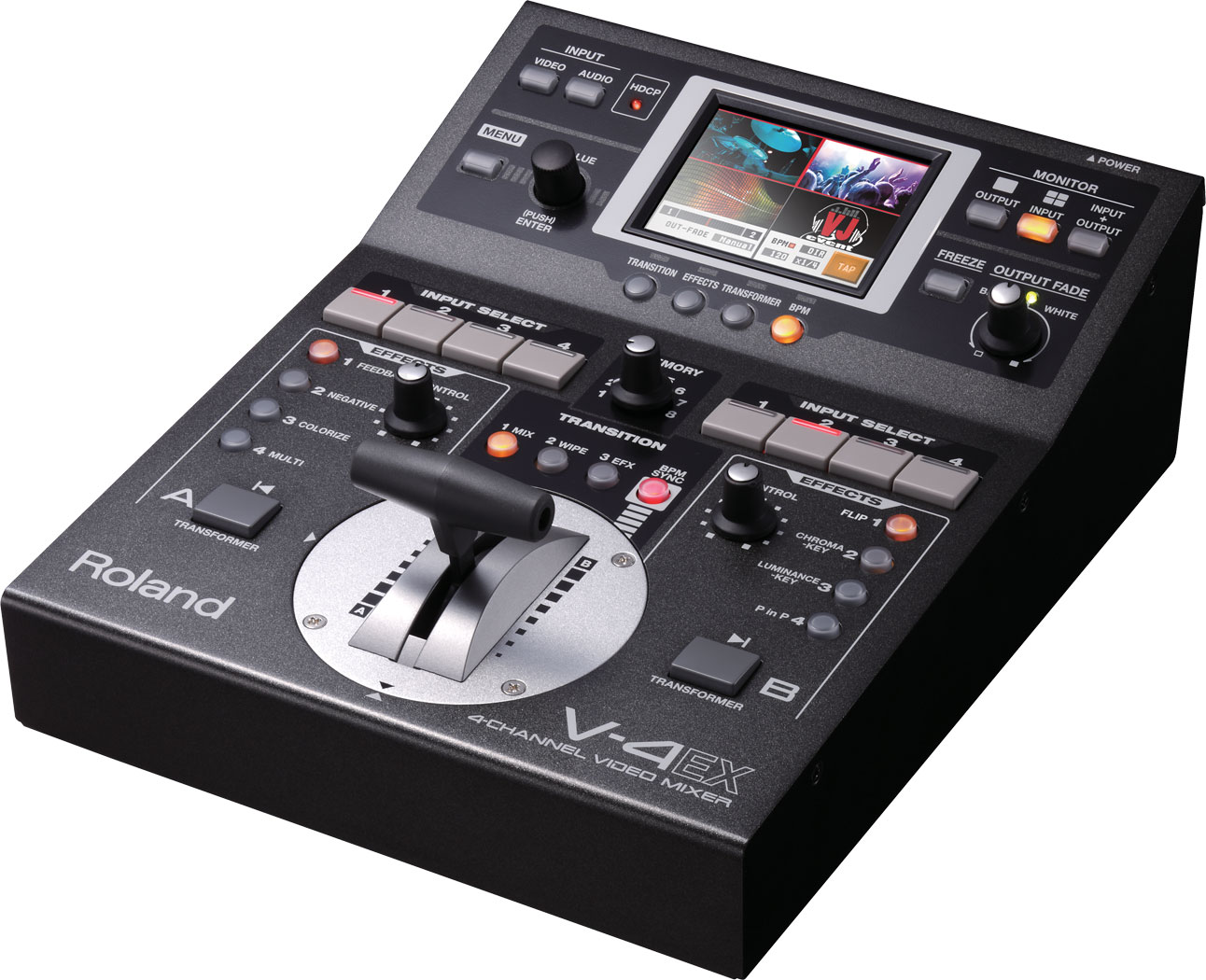 ROLAND V-4EX 4 Channel Digital Video Mixer with Effects + USB Streaming
