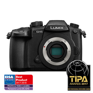 PANASONIC LUMIX DC-GH5 (GH5) Mirrorless MFT Digital Camera 6K - Body
