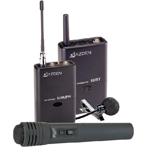 AZDEN 105LH WIRELESS DUAL COMBO