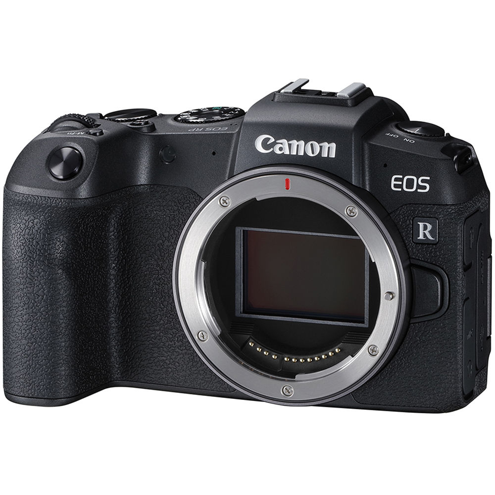 Canon EOS RP Mirrorless Digital Camera (Body Only) + Adapter EF-EOS
