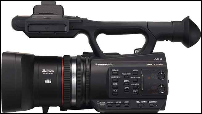 DISCONTINUED MODEL . PANASONIC AG-AC90 ( AG AC90 ) AVCCAM Camcorder