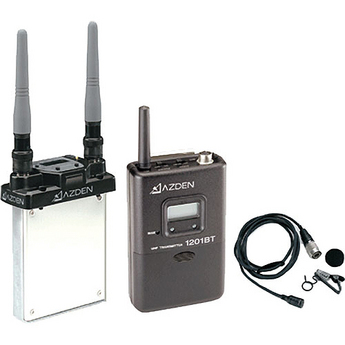 AZDEN 1201SiS ( 1201 SiS ) Broadcast Professional  SLOT IN  Wireless Body Pack System