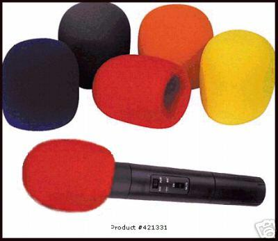 Pearstone Foam Windscreen for 1-3/8 inch (Burete Microfon Vocal)