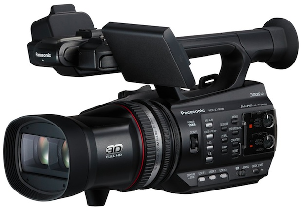PANASONIC HDC-Z10000 ( HDC Z10000 ) Twin Lens 3D / 2D Full HD Camcorder