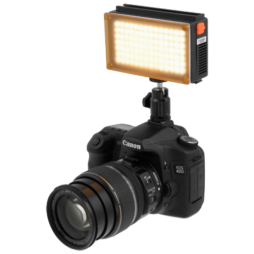 FOTODIOX LED-98A (LED 98) Pro Videolight Kit + Battery