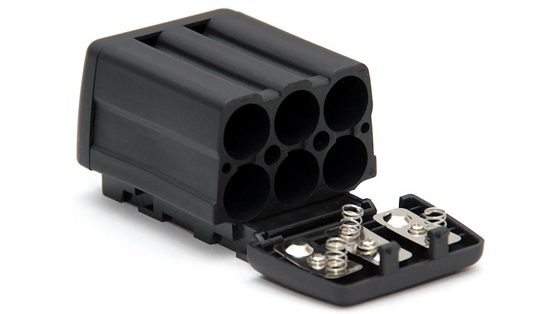 CN-6AA (CN 6AA) to NP-F750 / NP-F970  Battery Adaptor for Lights / Monitors / Electronic Devices