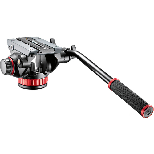 MANFROTTO 502AH (502 AH / 502HD) FLUID HEAD BRIDGE TEHNOLOGY FLAT BASE 4,5Kg