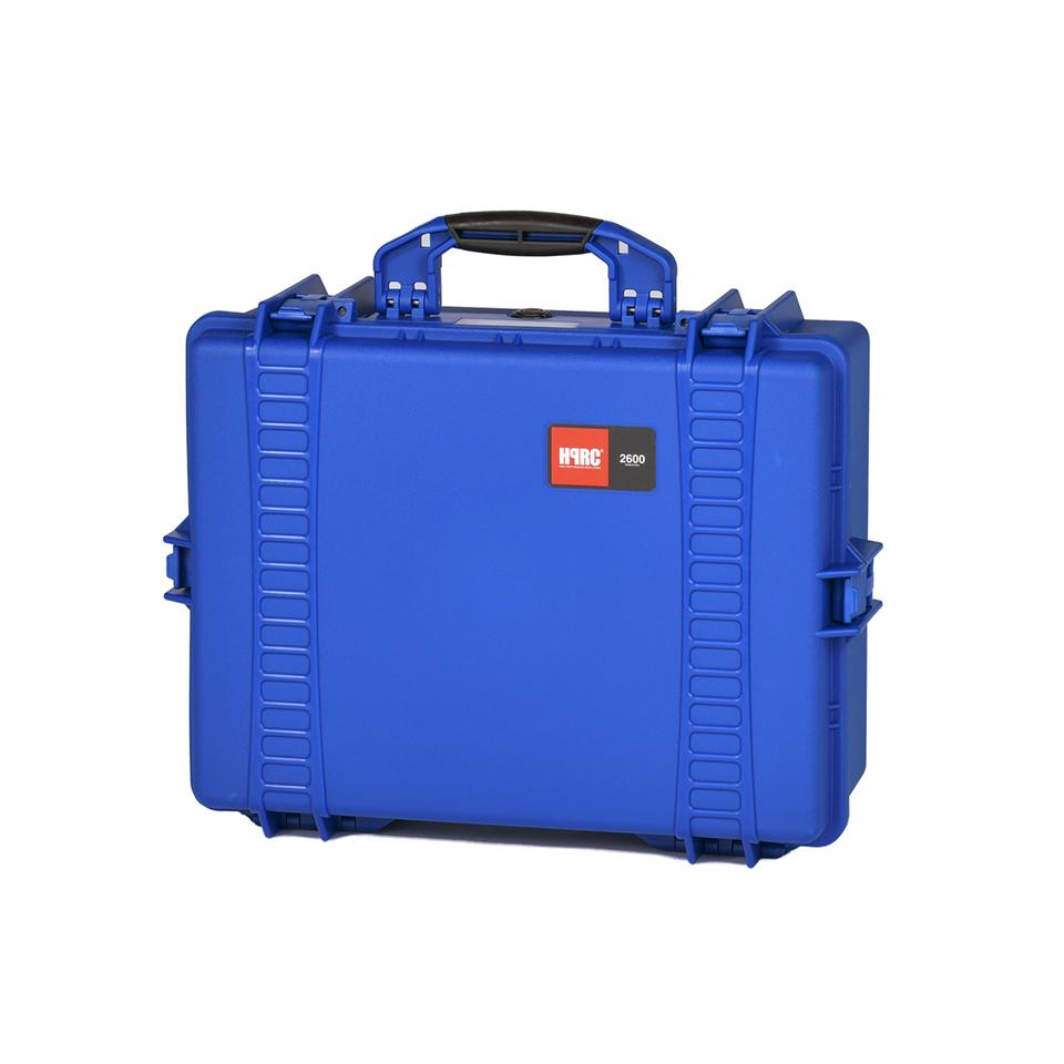 HPRC 2600 C BLUE (HPRC2600CBL) RESIN HARD CASE WITH CUBED FOAM INTERIOR