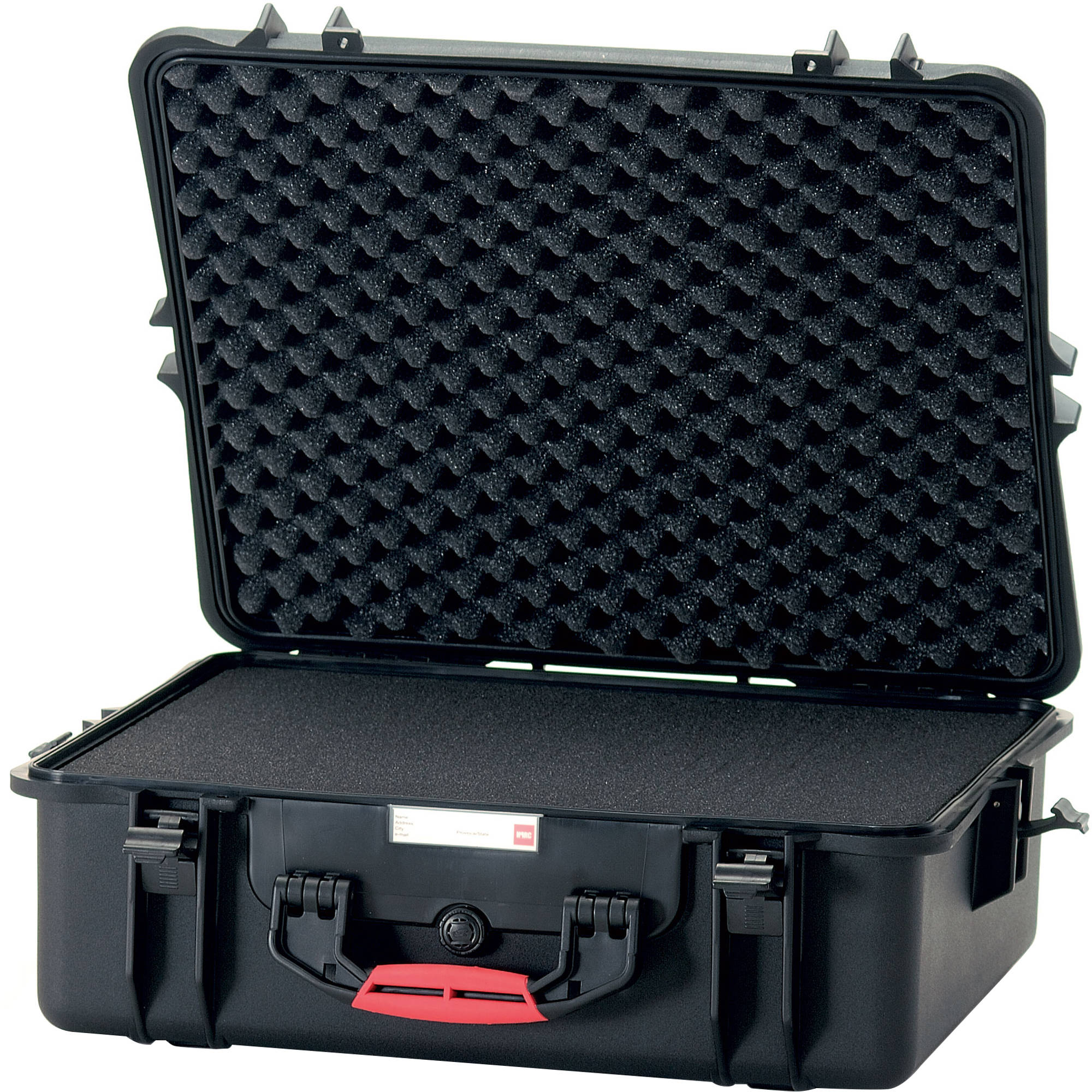 HPRC 2700 C (HPRC2700 CUBBLK) WATERPROOF HARD CASE WITH CUBED FOAM INTERIOR