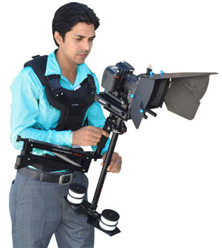 KIT FLYCAM C5 + PROAIM COMFORT VEST  + ARTICULATED ARM ( 1Kg - 3.7 Kg )