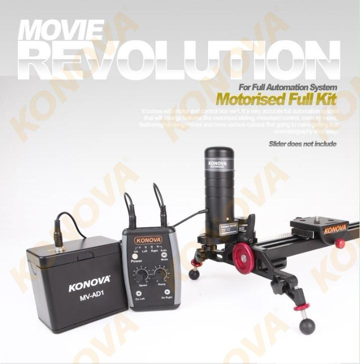 KONOVA BASIC MOTION / TIME LAPSE CONTROLLER + MOTOR + CRANK KIT (BUNDLE B)