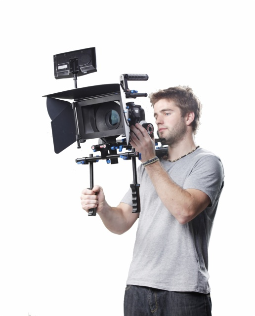 WONDLAN SNIPER 3.0 DSLR Rig 3.2 + Follow Focus + Upper Handle + Matte Box