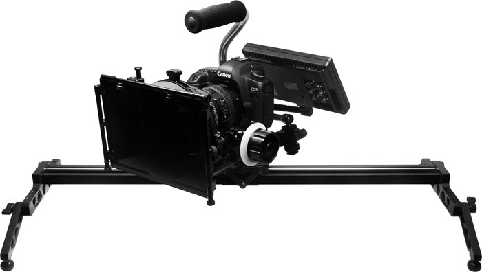 F&V DSLR / CAMCORDER TRACK DOLLY SLIDER S80 with ROLLER BEARING