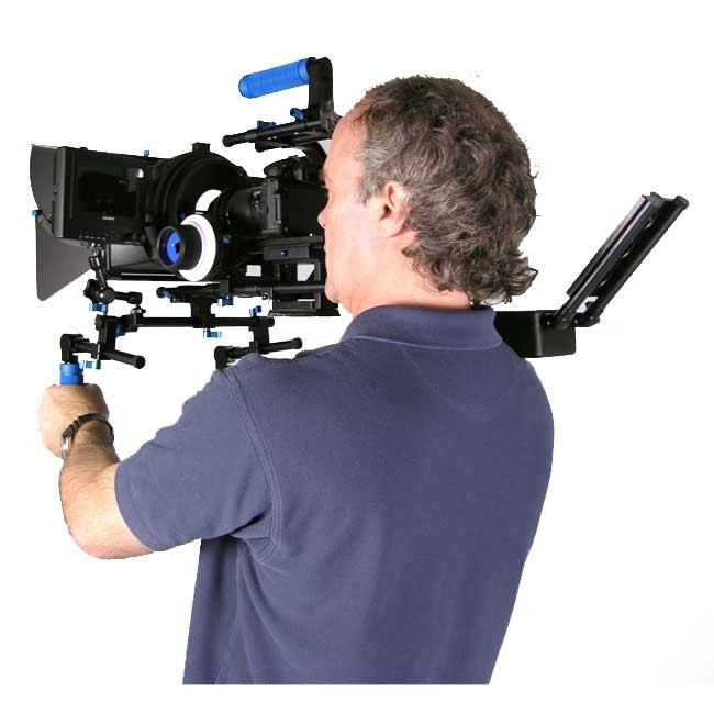 KONOVA MAXI DSLR RIG SHOULDER MOUNT + PRO FOLLOW FOCUS + SWING AWAY MATTE BOX + Aluminium Box