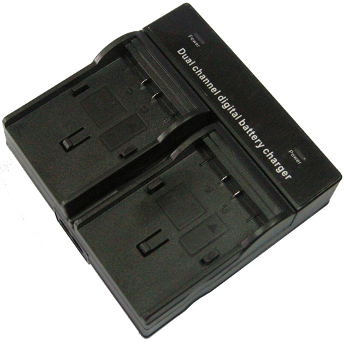 DYNACORE DUAL BATTERY CHARGER DV-2H for  Panasonic VBG6 / VBG260 / VBG130  / Replacement