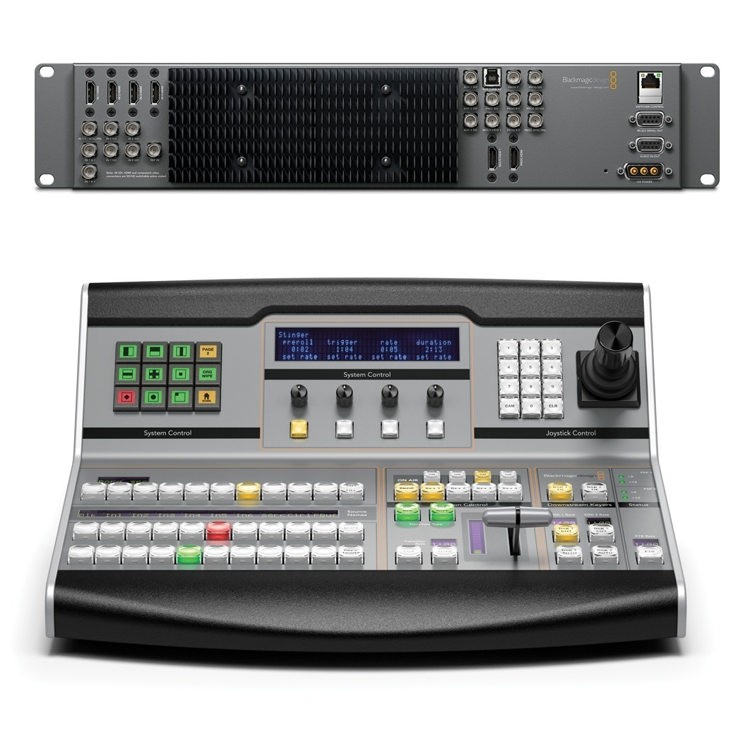 Blackmagic Design ATEM 1 M/E Broadcast Panel (BM-SWPANEL1ME)
