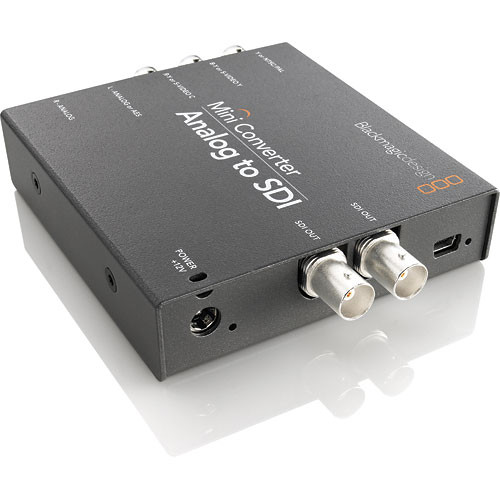 Blackmagic Design Mini Converter Analog to SDI 2 (BM-CONVMAAS2)