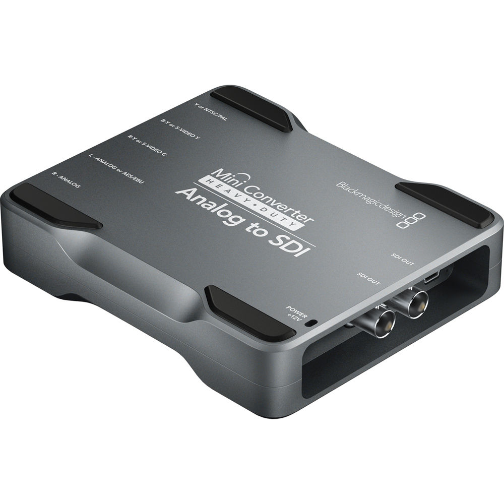 Blackmagic Design Mini Converter Heavy Duty - Analog to SDI (BM-CONVMH/DUTYAAS)