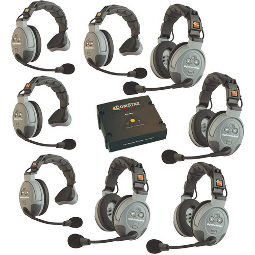 Eartec COMSTAR XT-8 FULL DUPLEX WIRELESS INTERCOM SYSTEM