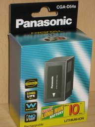 PANASONIC CGA-D54 ( D54SE ) Li-Ion Battery Pack