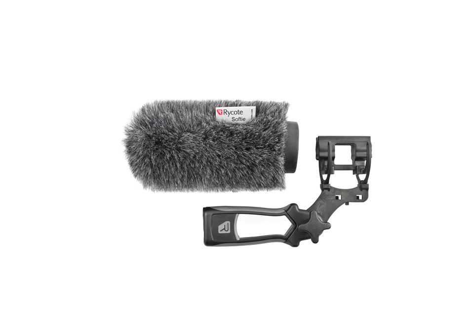 Rycote 12cm Softie KIT with Pistol Grip Handle + Lyre Mount