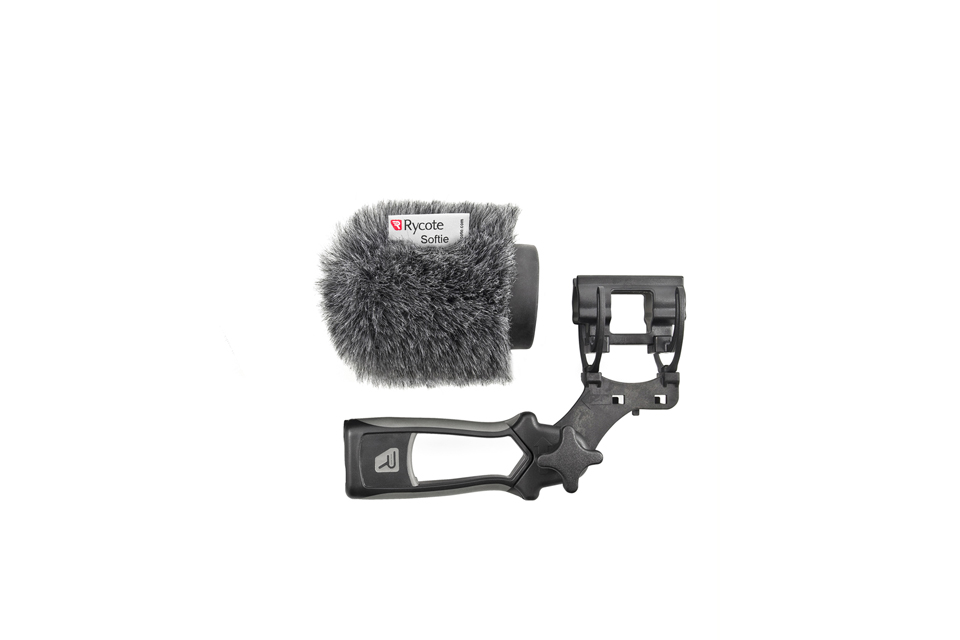 Rycote 5cm Softie KIT with Pistol Grip Handle + Lyre Mount