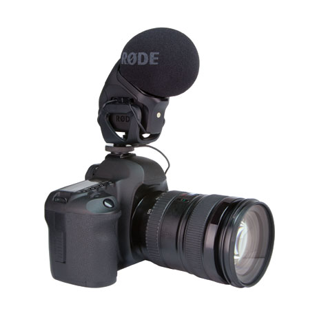 RODE STEREO VIDEOMIC PRO (New Model)