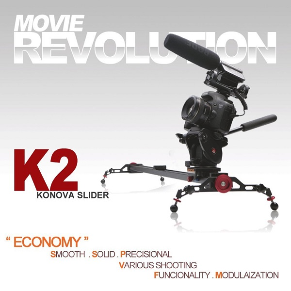 KONOVA ECONOMY DSLR SLIDER K2 120 cm Dolly Track