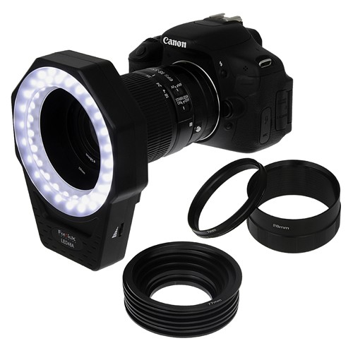 FOTODIOX LED 48A RING LIGHT KIT for DSLR MACRO / PORTRAIT / VIDEO